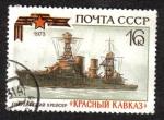 Sellos de Europa - Rusia -  Guardias Cruiser 'Krasny Kavkaz