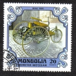 Sellos de Asia - Mongolia -  Benz, Germany, 1885