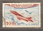 Sellos del Mundo : Europa : Francia : Avion Mystere 4 (270)