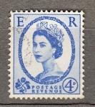 Sellos del Mundo : Europa : Reino_Unido : Reina (416)
