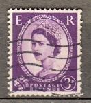 Sellos del Mundo : Europa : Reino_Unido : Reina (417)
