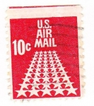 Stamps United States -  us air mail