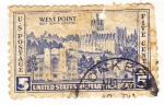 Stamps United States -  west point