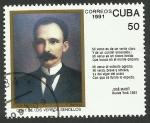 Stamps Cuba -  José Martí, poeta