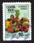 Sellos del Mundo : America : Costa_Rica :  Frutas