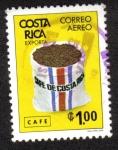 Stamps Costa Rica -  Café