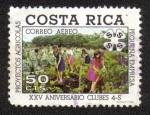 Sellos del Mundo : America : Costa_Rica : XXV Aniversario Clubes 4-S