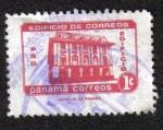 Sellos de America - Panamá -  Edifio de Correos