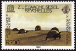 Sellos del Mundo : Africa : Seychelles : SEYCHELLES - Atolón de Aldabra