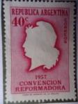Stamps Argentina -  Convención Reformadora 1957