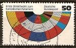 Sellos de Europa - Alemania -  Primeras elecciones directas al Parlamento Europeo.
