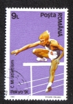 Stamps Romania -  Hurdles
