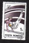 Sellos de Europa - Rumania -  Barras Paralelas