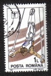 Stamps Romania -  Rings
