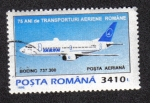 Stamps Romania -  Boeing 737-300