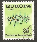 Stamps Germany -  567 - Europa Cept