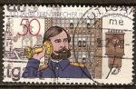 Sellos de Europa - Alemania -  Centenario de teléfono en Alemania.