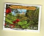 Sellos del Mundo : Europa : Italia :  Jardines botánicos.