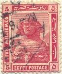 Stamps Africa - Egypt -  Esfinge