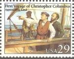 Stamps United States -  PRIMER  VIAJE  DE  COLÒN.  AVISTAMIENTO  DE  TIERRA
