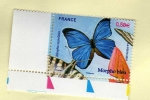 Stamps : Europe : France :  Mariposa.
