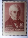 Sellos de America - Argentina -  Juan Martín de Pueyrredon