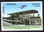 Sellos de America - Honduras -  Inicio del Correo Aéreo Internacional Hondureño, 5 de Febrero de 1929