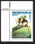 Sellos del Mundo : America : Honduras :  Fauna Silvestre en Peligro de Extinción