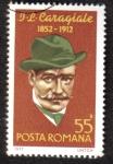 Stamps Romania -  J.L.Caragiale, Escritor