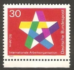 Stamps Germany -  445 - 50 anivº de la Organización Internacional del Trabajo