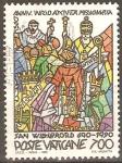 Stamps Vatican City -  1300th  ANIVERSARIO  DEL  MINISTERIO  DE  DE  SAN  WILLIBRORD