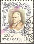 Stamps Vatican City -  S.S.  PAPA   PÌO  IX  (1792-1878)