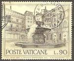 Stamps Vatican City -  FUENTE  EN  LA  PLAZA  DE  SAN  PEDRO