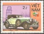 Sellos de Asia - Vietnam -  AUTOS.  ISSOTA  FRASHINI  1928.