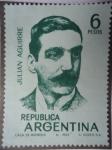 Sellos de America - Argentina -  Compositor: Julián Aguirre ó Julián Antonio Tomás Aguirre 1868-1924