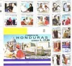 Sellos de America - Honduras -  Cardenal Oscar Andres Rodríguez Una Vida Consagrada Al Servicio del Projimo