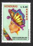 Sellos del Mundo : America : Honduras :  Decenio De Las Naciones Unidas Contra El Abuso y Tráfico Ilícito De Drogas
