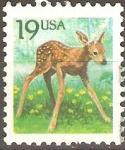Stamps United States -  CERVATO