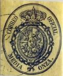 Sellos de Europa - España -  Scott#O5 1/2 onza 1855