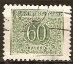 Sellos de Europa - Checoslovaquia -  Sello Fiscal.