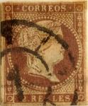 Sellos de Europa - España -  2 reales 1856-59