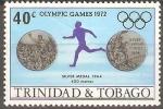 Stamps America - Trinidad y Tobago -  JUEGOS  OLÌMPICOS  1972.  CARRERA  400  METROS.