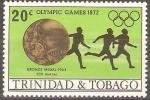 Stamps Trinidad y Tobago -  JUEGOS  OLÌMPICOS  1972.  CARRERA  DE  200  METROS.