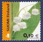Stamps Finland -  FINLANDIA Convallaria Majalis A 0,10
