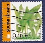 Stamps Finland -  FINLANDIA Convallaria Majalis B 0,10