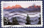 Sellos de America - Estados Unidos -  USA Gran Teton National Park 98