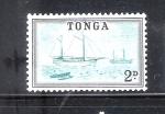 Stamps Oceania - Tonga -  Veleros