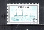 Stamps Oceania - Tonga -  Embarcaciones