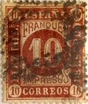 Sellos de Europa - España -  10 milesimos