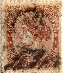 Sellos de Europa - España -  100 milésimos 1868-69